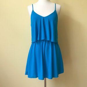 Forever 21 Layered Blue Sun Dress